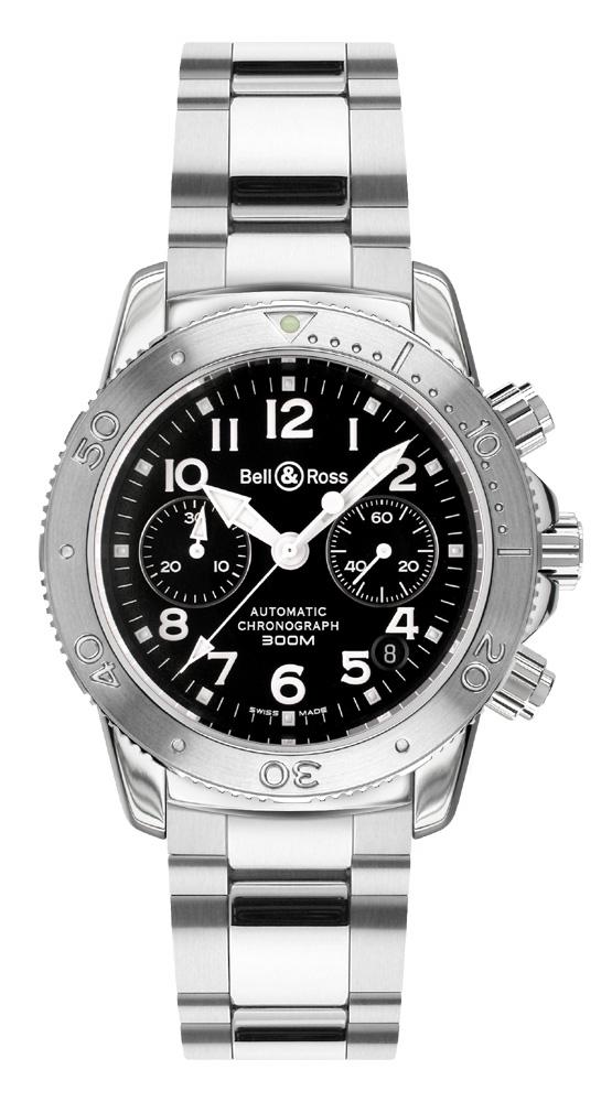 часы Bell & Ross Diver 300 Black