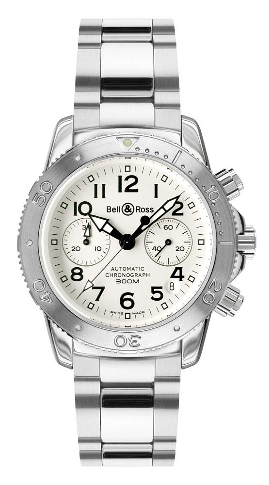 часы Bell & Ross Diver 300 White