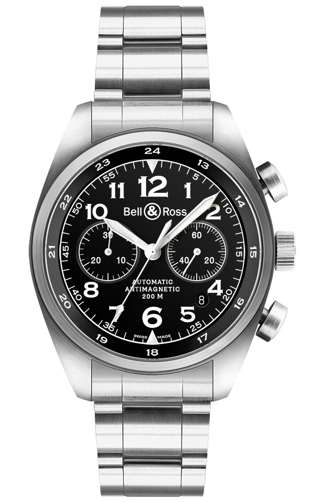 часы Bell & Ross Vintage 126 XL Black
