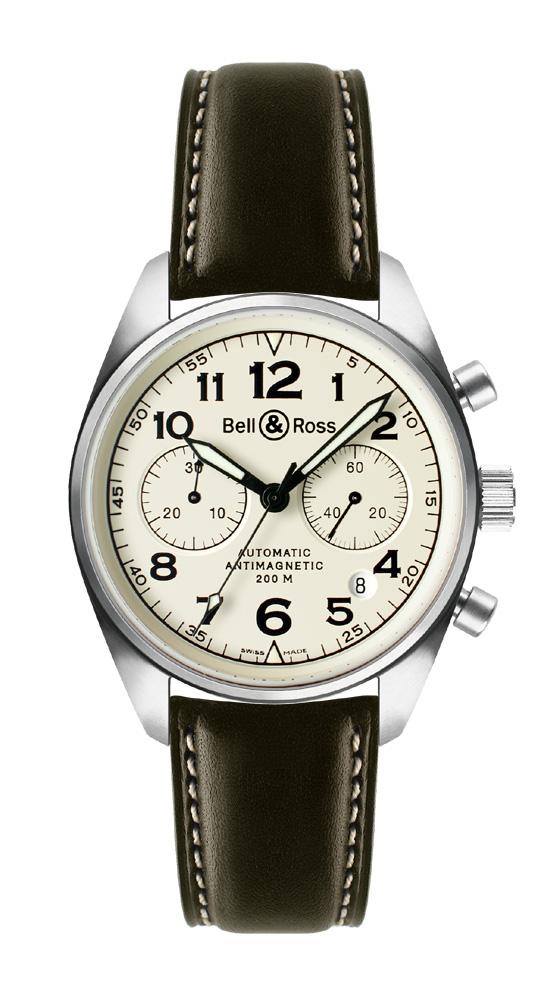 часы Bell & Ross Vintage 126 Beige