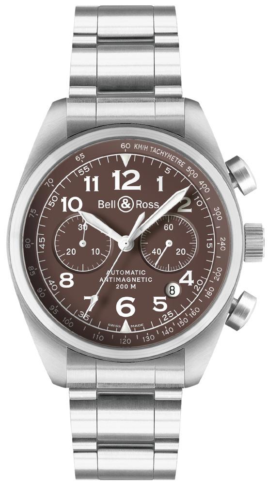 часы Bell & Ross Vintage 126 XL Brown