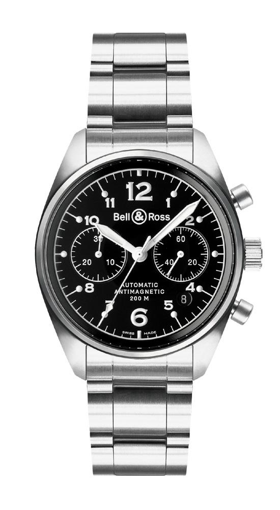 часы Bell & Ross Vintage 126 Black