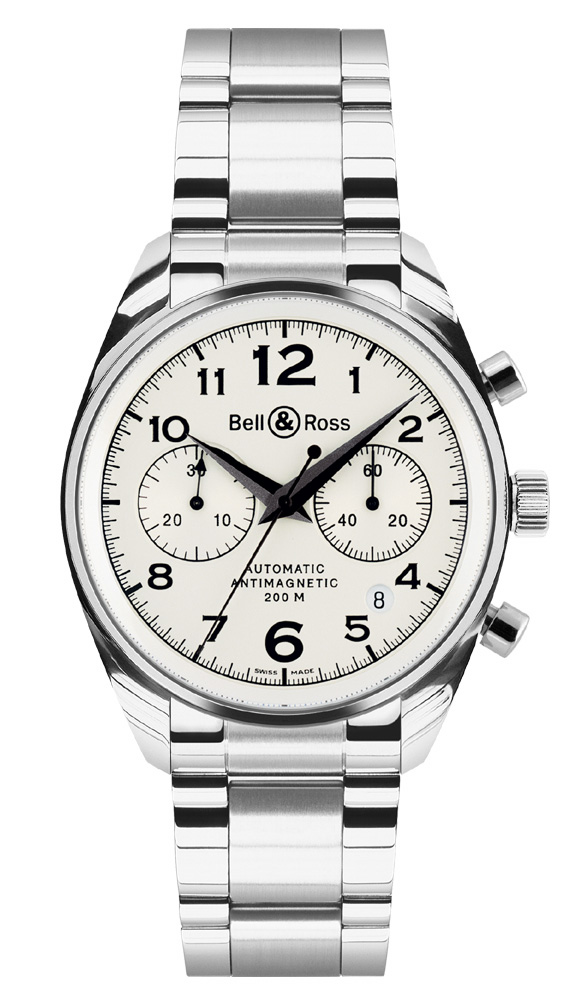 часы Bell & Ross Geneva 126 White