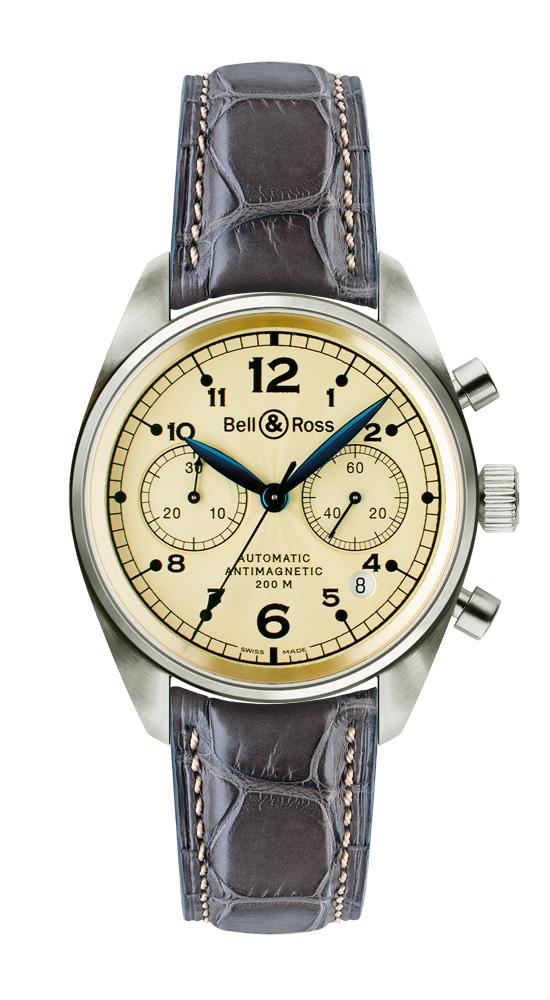 часы Bell & Ross Vintage 126 Gold Ivory