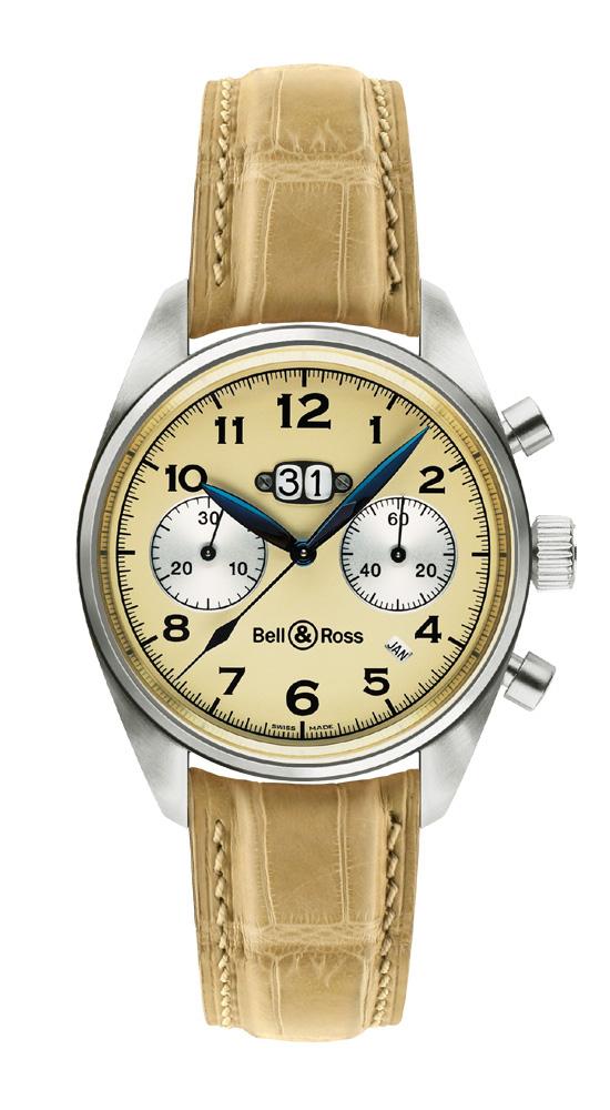 часы Bell & Ross Annual Big Date Chronograph