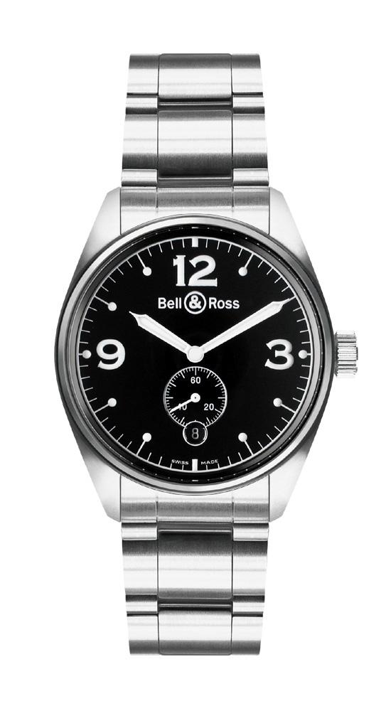 часы Bell & Ross Vintage 123 Black