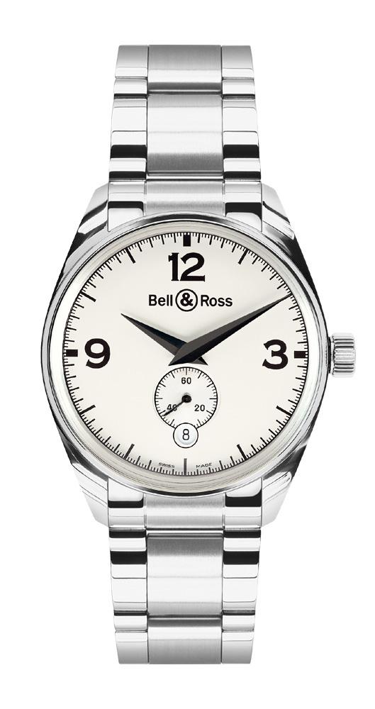 часы Bell & Ross Geneva 123 White
