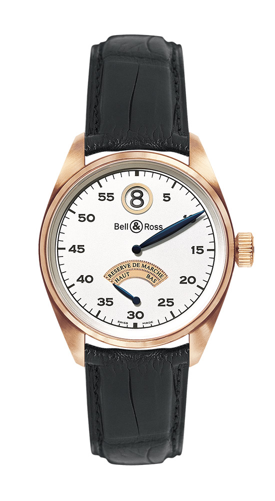 часы Bell & Ross Vintage 123 Pink Gold Jumping Hour