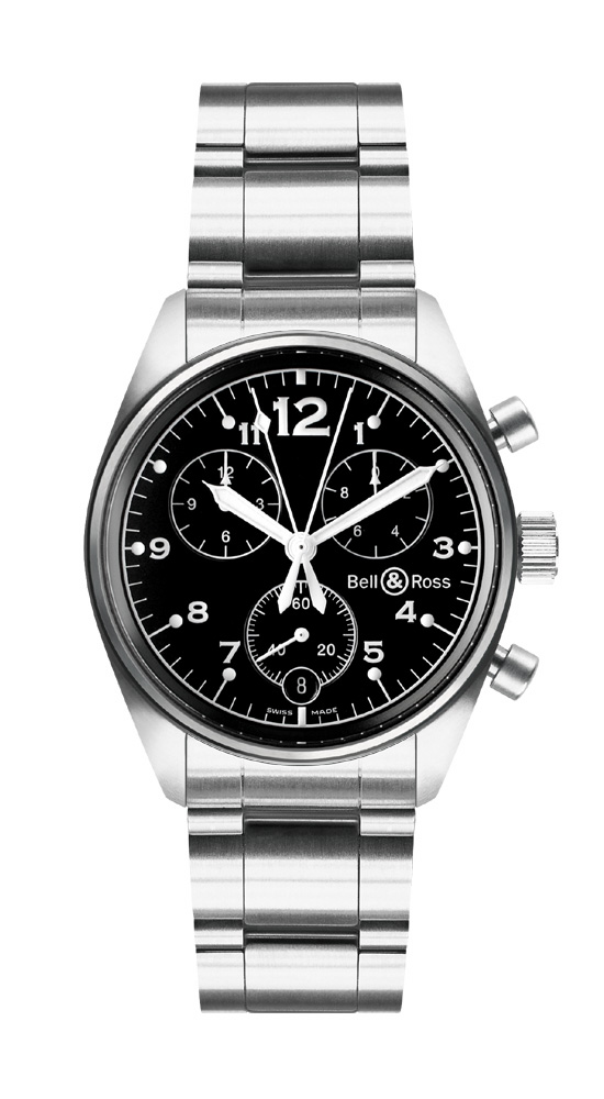 часы Bell & Ross Vintage 120 Black