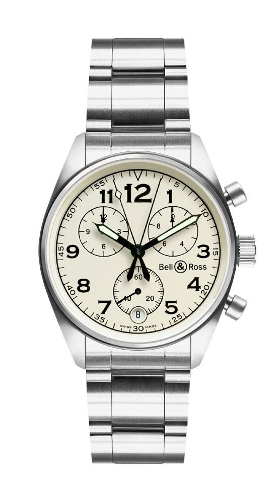 часы Bell & Ross Vintage 120 Beige