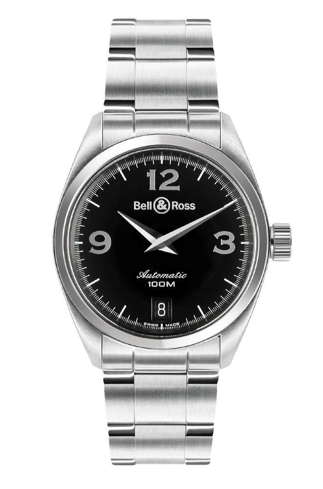 часы Bell & Ross Medium Auto Black
