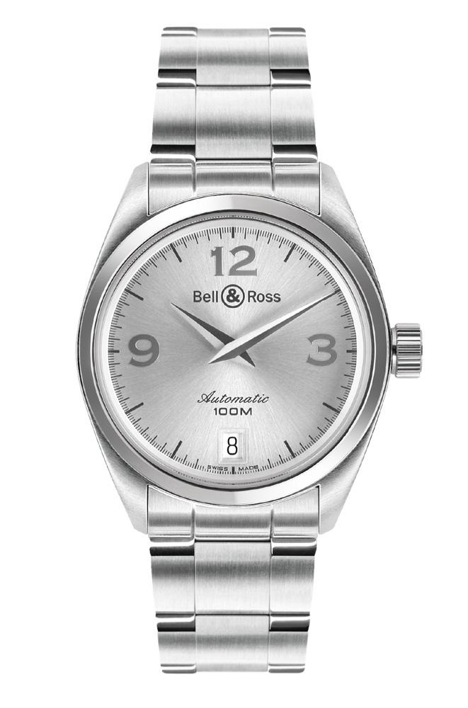 часы Bell & Ross Medium Auto Grey