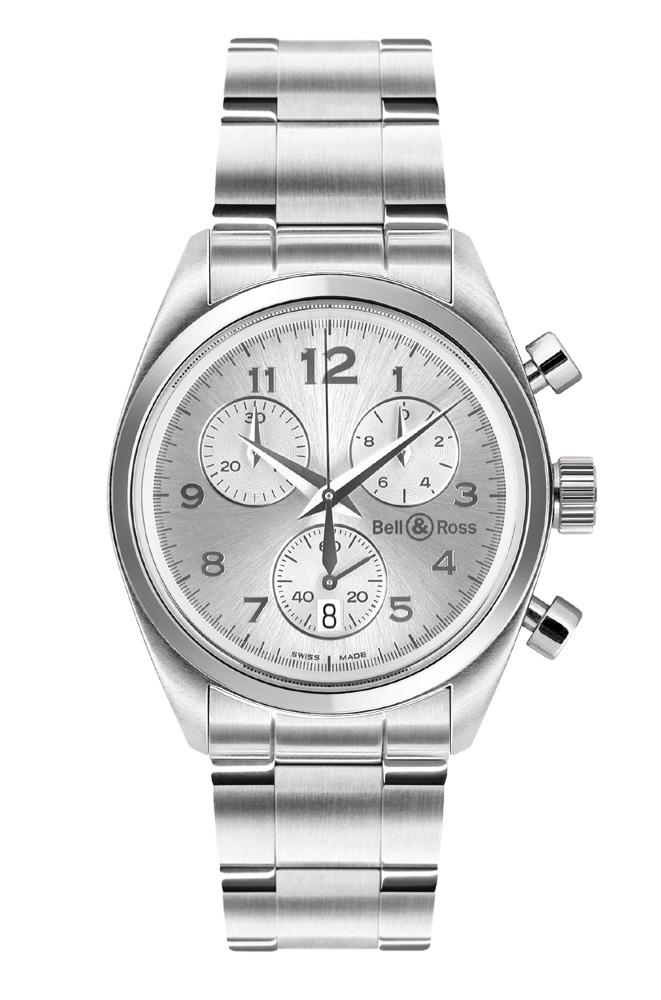 часы Bell & Ross Medium Chrono Grey