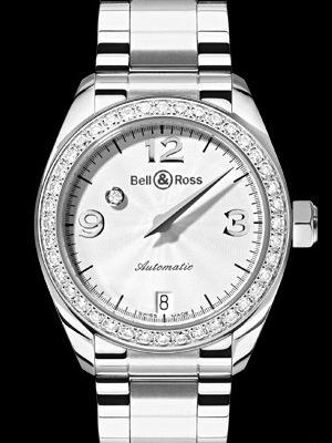 часы Bell & Ross Mystery Diamond White 1 ROW