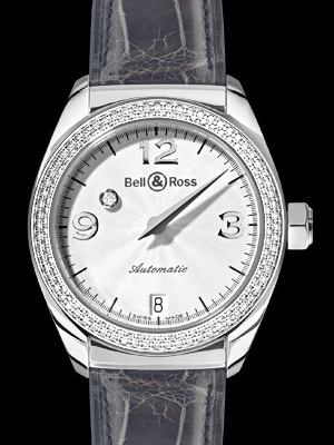 ���� Bell & Ross Mystery Diamond White 2 Rows