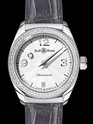 часы Bell & Ross Mystery Diamond White 2 Rows