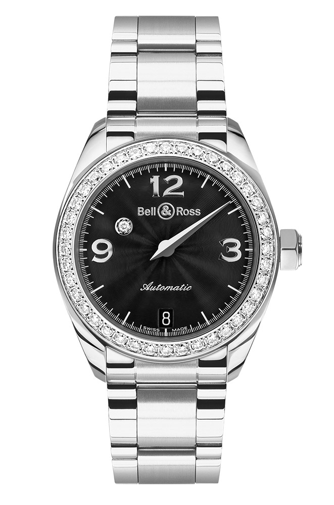 часы Bell & Ross Mystery Diamond Black 1 ROW