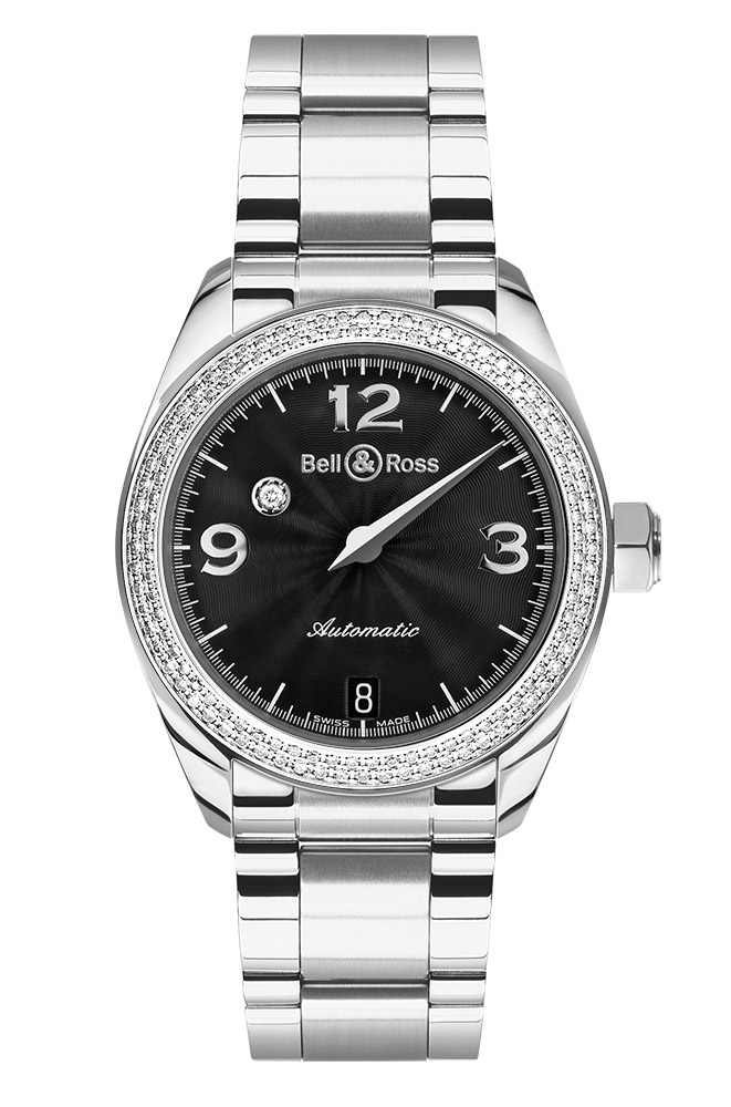 часы Bell & Ross Mystery Diamond Black 2 ROW