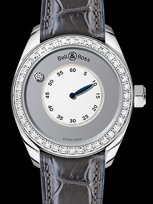 часы Bell & Ross Mystery Diamond White Gold