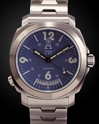 часы Anonimo D-Date Deep Blue