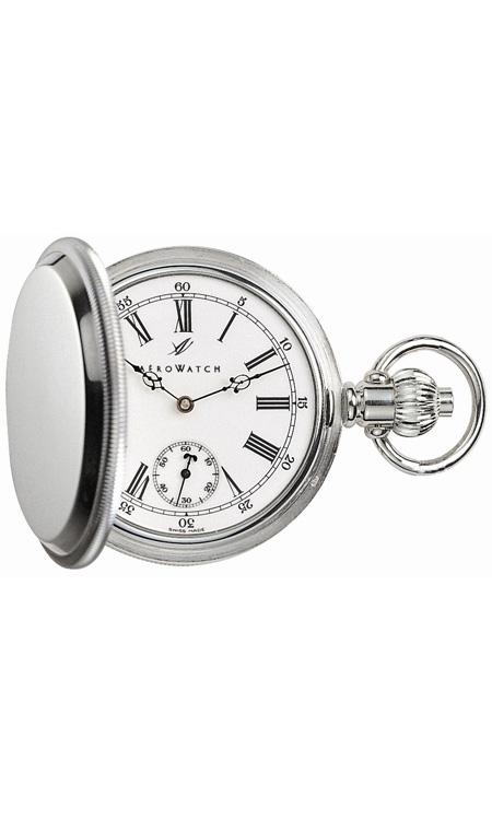 часы Aerowatch Savonnettes Silver 925 Skeleton