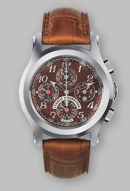 часы Cuervo y Sobrinos Robusto Cronógrafo