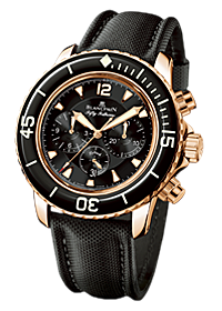 часы Blancpain Sport Flyback chrono Fifty Fathoms