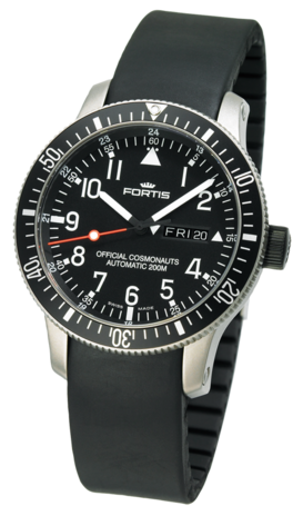 часы Fortis B-42 OFFICIAL COSMONAUTS DAY/DATE TITANIUM