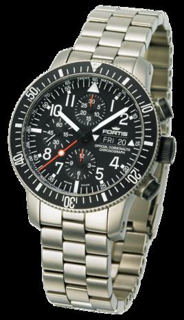 часы Fortis B-42 OFFICIAL COSMONAUTS DAY/DATE TITANIUM