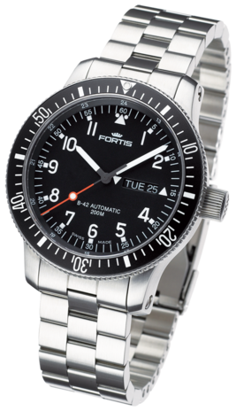 часы Fortis B-42 OFFICIAL COSMONAUTS DAY/DATE
