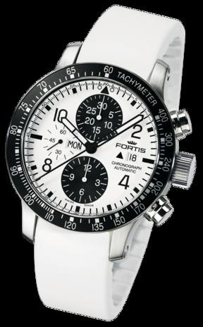 часы Fortis B-42 STRATOLINER CHRONOGRAPH WHITE