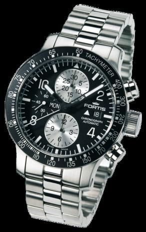 часы Fortis B-42 STRATOLINER CHRONOGRAPH BLACK