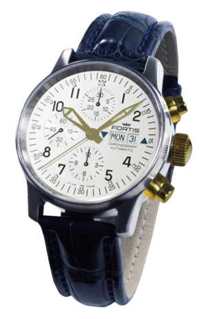 часы Fortis FLIEGER AUTOMATIC STAHL / 18 KT GOLD