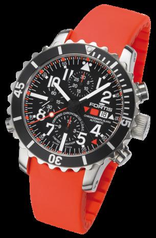 часы Fortis B-42 MARINEMASTER CHRONOGRAPH ALARM Chronometer C.O.S.C.