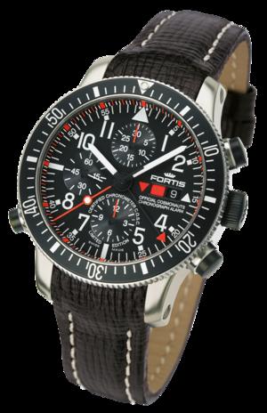 часы Fortis B-42 OFFICIAL COSMONAUTS CHRONOGRAPH ALARM  Chronometer C.O.S.C. TITANIUM