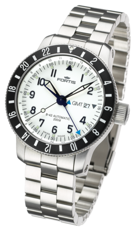���� Fortis B-42 DIVER GMT 3 TIME ZONES