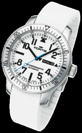 часы Fortis B-42 MARINEMASTER DAY/DATE WHITE