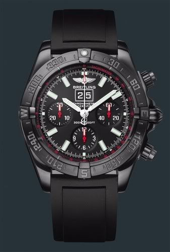часы Breitling Blackbird Blacksteel