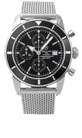 часы Breitling Superocean Heritage Chronographe Green
