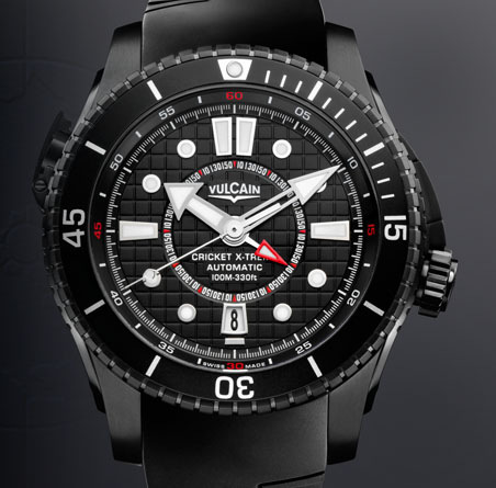 часы Vulcain Cricket X-TREME Automatic Titanium & Steel