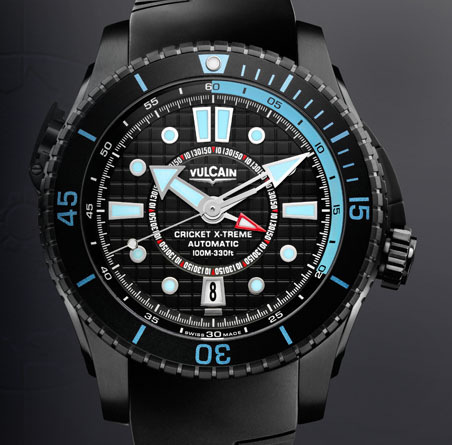 часы Vulcain Cricket X-TREME Automatic Titanium & Steel
