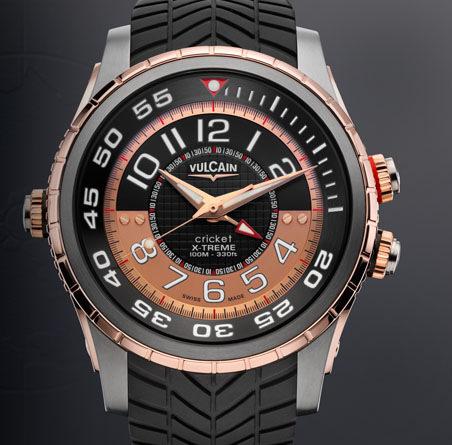часы Vulcain Diver X-Treme Titanium & Gold