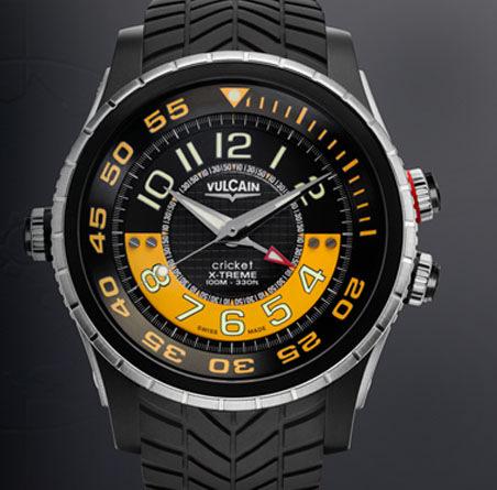 часы Vulcain Diver X-Treme Titanium & Steel