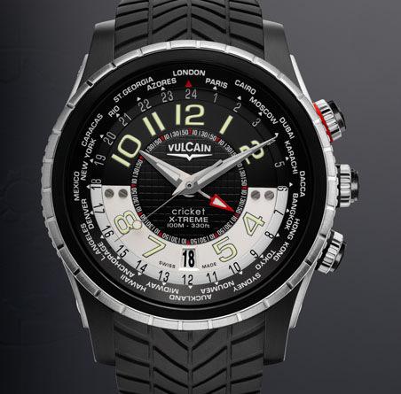 часы Vulcain GMT X-Treme Titanium & Steel