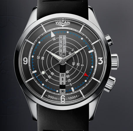 часы Vulcain Nautical Steel