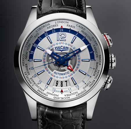 часы Vulcain Revolution GMT Automatic Steel
