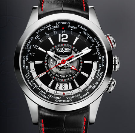 часы Vulcain Revolution GMT Automatic Steel