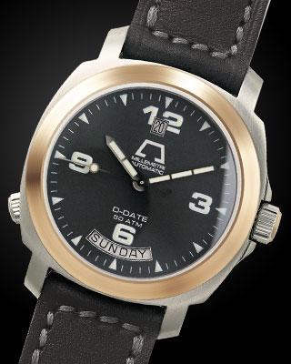 часы Anonimo D-Date II Steel & Gold