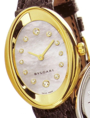 часы Bulgari Ovale