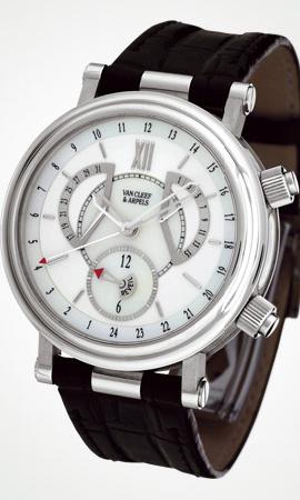 часы Van Cleef & Arpels Alarm GMT